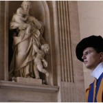 DAY IN LIFE OF SWISS GUARD, Vatican